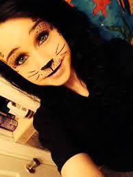 cute cheetah halloween makeup