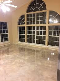 Concrete Floors Kitchen Metallic Epoxy Concrete Concrete Floors By Decorative Concrete