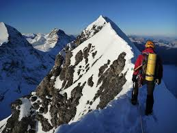 The norwand (north wall) is 6000 ft high. Climb The Eiger 3970m High Mountain Guides