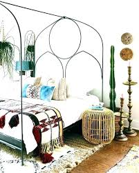 diy boho bed frame bed frame fabulous free best black metal ideas on platform bed frame