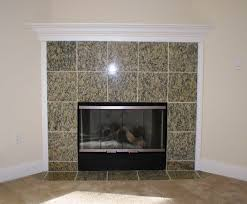 granite tile fireplace surround for elegant fireplace surround ideas