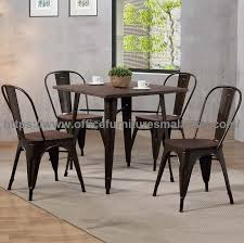 industrial style outdoor furniture. Industrial Style Dining Set High Quality Malaysia Pertaining To Table Decor 2 Outdoor Furniture