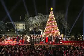 2017 National Tree Lighting President Trump And First Lady Light Christmas Tree