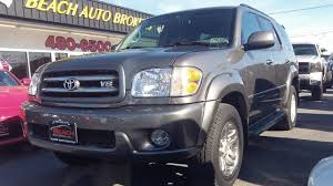 2004 TOYOTA SEQUOIA LIMITED 4X4, CARFAX CERTIFIED, 3RD ROW SEATING ...