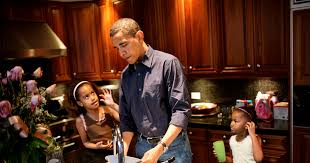 president obama s touching essay on fatherhood com