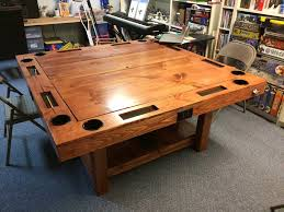Wooden Gaming Table DIY Gaming Table for 100 YouTube 2