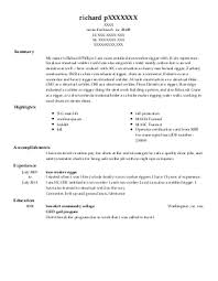 Iron Worker Resume Nmdnconference Com Example Resume And Cover