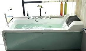 freestanding jetted tub freestanding whirlpool tub jetted bathtubs glass with built in flat arched faucet freestanding