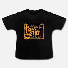 Bier Sprüche Party Geschenk Vatertag Geburtstag Baby T Shirt