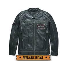 harley davidson reg men s rustlers leather jacket very vintage