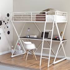 full size loft bed with desk full size loft beds with desk underneath bunk
