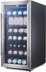 phiestina ph cbr100 106 can capacity mini fridge with glass door and handle