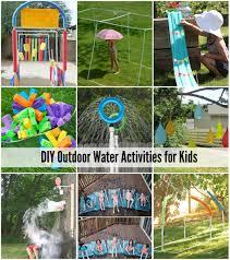 Diy Outdoor Games 25 Water Games Activities For Kids
