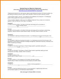 10 Objective Sample For Resumes Emails Resume Job Fair Example