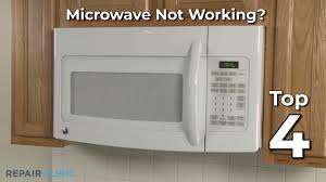 microwave oven troubleshooting