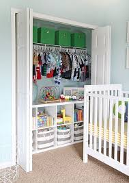 this is a great way to have a traditional closet with a little added organization