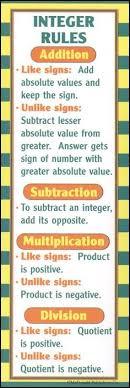 ready reference pre algebra algebra th grade homeschool pre algebra bookmark because teaching integers is like my worst nightmare