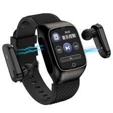 <b>Gocomma</b> S300 TWS <b>2</b>-in-<b>1</b> Smart Watch Support Headset + ...