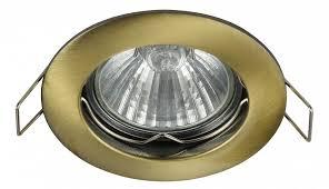<b>Встраиваемый светильник</b> Metal <b>DL009</b>-<b>2</b>-<b>01</b>-BZ <b>Maytoni</b> в ...