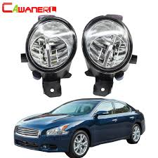 2010 Nissan Maxima Fog Light Kit Us 24 52 44 Off Cawanerl For Nissan Maxima 2009 2010 2011 2012 2013 2014 2015 Car H11 4000lm Led Light Right Left Fog Light Drl 12v 2 Pieces In