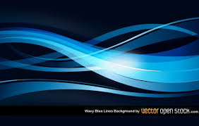 Blue And Black Background Vector Vector Free Download