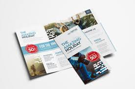 Brochure Templates For It Company Travel Company Trifold Brochure Template In Psd Ai Vector