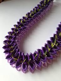 Ribbon Lei Designs Pin On Ribbon Lei