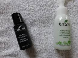 boscia bestsellers detoxifying black cleanser makeup breakup cool cleansing oil