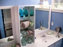 Diy Bathroom Mirror Diy Bathroom Mirror With Shelf Decorating Ideas Gyleshomescom