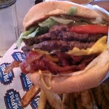 bacon cheese burger pappas bbq houston tx