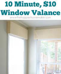 window valance diy