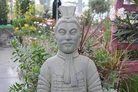decoration statue chinese warrior