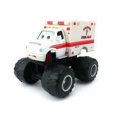 Disney Pixar Cars Monster Truck Mater Dr. Feel Bad Diecast Toy Car 1 ...