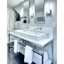 vanity faucet height delta wall mount l wall