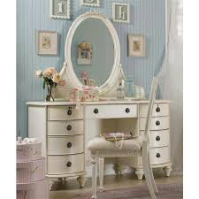 Furniture : Dressing Table White Wooden Dressing Table With Storage White  Chair Oval White Mirror Frame Blue Wooden Wall White Curtain Get Dressing  Tables ...