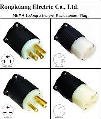 nema l5 30 locking plug 30amp industrial grade twist lock wiring straight 15amp plug 15amp wiring