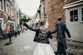 however my favourite part of this was seeing jayne rock up in her just married leather jacket over her wedding dress