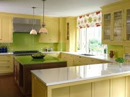 Yellow Kitchen Theme Kitchen Sleek Lime Green Kitchen Decor Theme With Window Blinds