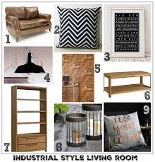Industrial Style Living Room Furniture Solid Oak Furniture For A Modern Industrial Living Room Fresh