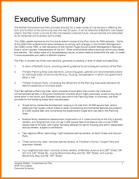 Resume Executive Summaries Executive Summary Of Your Resume Sample Assistant For