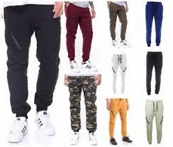 Men's Quilted Cotton Fleece Jogger Sweat Pants Biker Moto Fashion ... & Image is loading Men-039-s-Quilted-Cotton-Fleece-Jogger-Sweat- Adamdwight.com