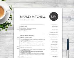 Resume Template And Cover Letter With References Template For