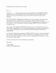 Charity Sponsorship Letter Template Samples Letter Template Collection
