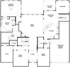 open kitchen living room floor plan. Affordable Floor Plans With Open Kitchen To The Living Room Plan 1