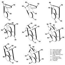 how to place an alternator belt on 1985 gmc 454 fixya