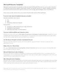 Make Free Resume Online Template