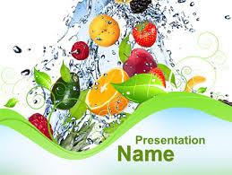 Summer Powerpoint Templates Summer Fruits Presentation Template For Powerpoint And