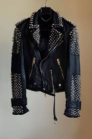 Pin by Bella Maria on Lederjacke | Mens street style, Studded leather  jacket, Mens dressing styles casual