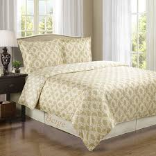 sierra beige ivory silky soft 100 percent egyptian cotton reversible duvet cover twin twin xl 2pc