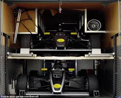 garage door wrapsMy other cars a jet Or how to turn a garage door into a work
